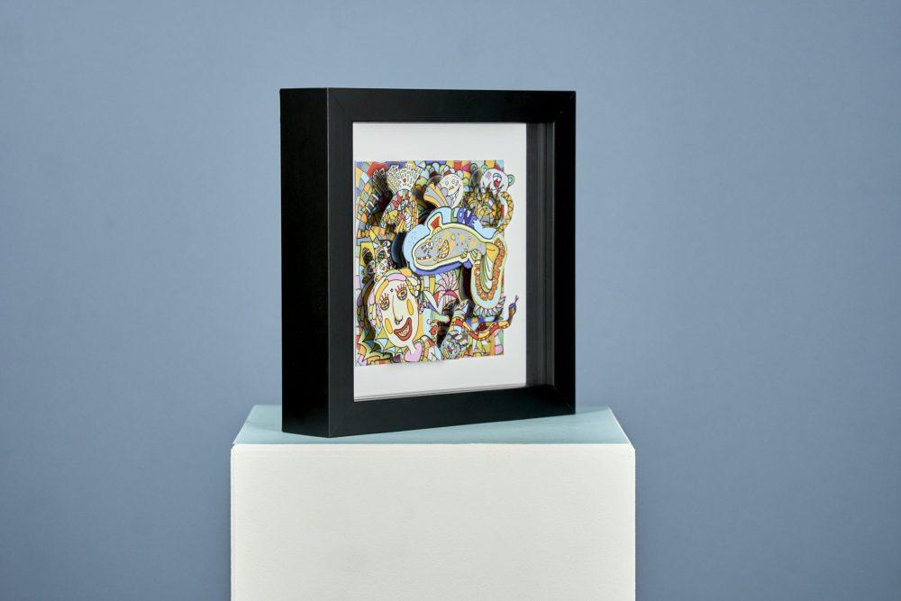 Die Flachschwanzforelle - 3D Print Version von Ali Görmez