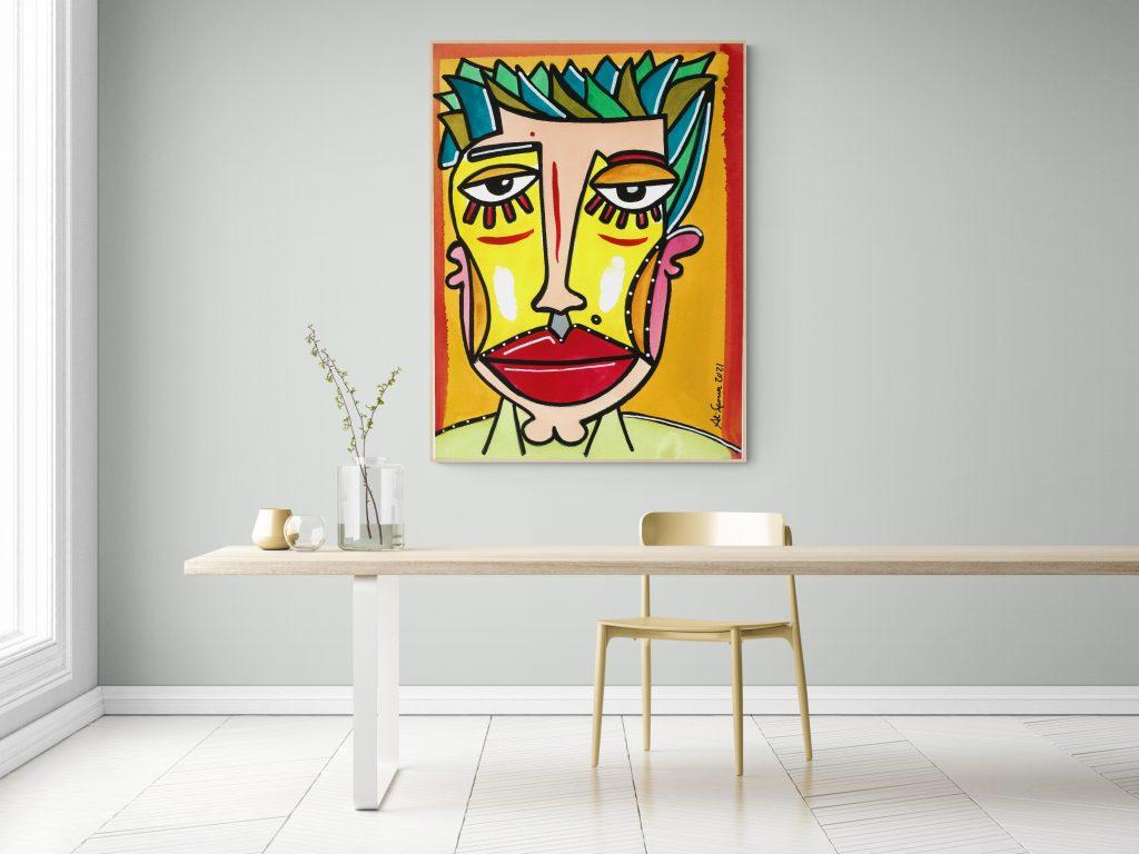 Ali art face