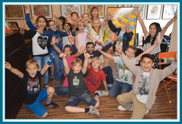 Ali Görmez & Happy Art Class Kids