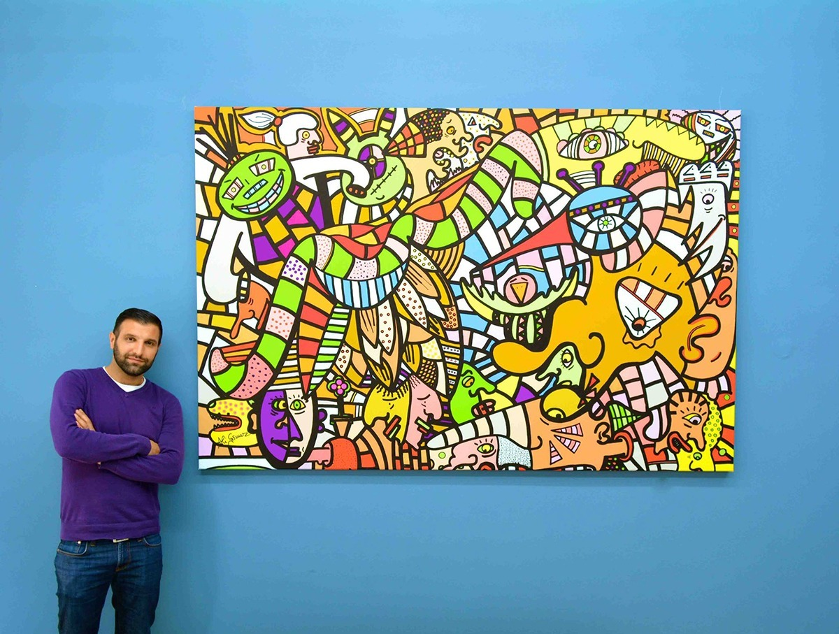 Pop Art Artist Ali Görmez