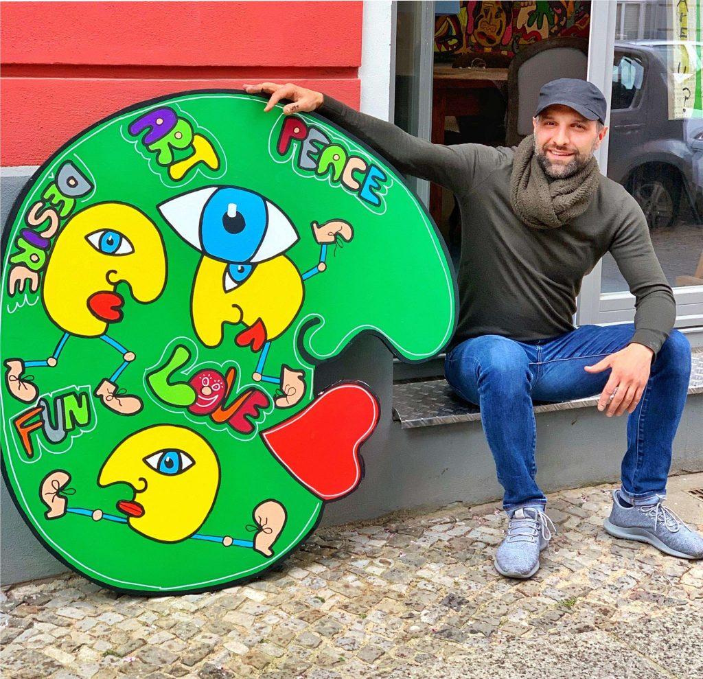 pop art character Eddy & Ali Görmez