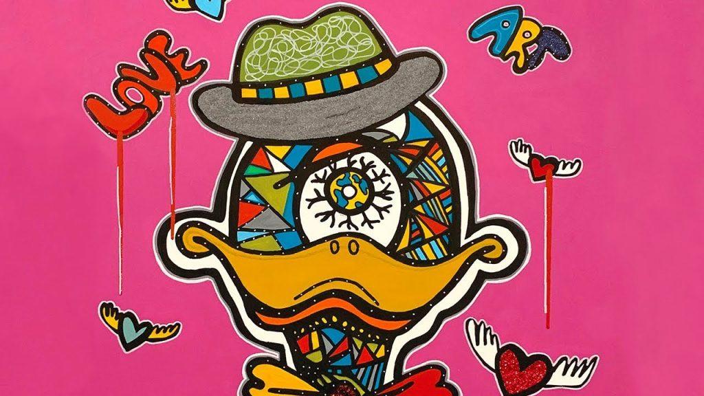 Focky, the duck - art-characterby Ali Görmez
