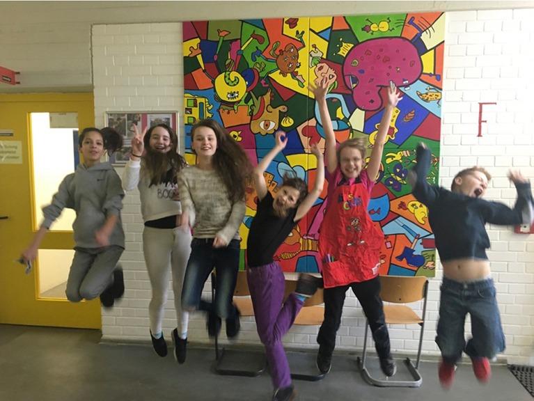 Projekttag in der Grundschule in den Rollbergen