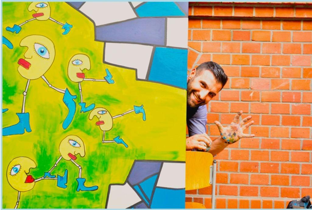 "Pop Art Character ""The Eddies"" & Ali Görmez"
