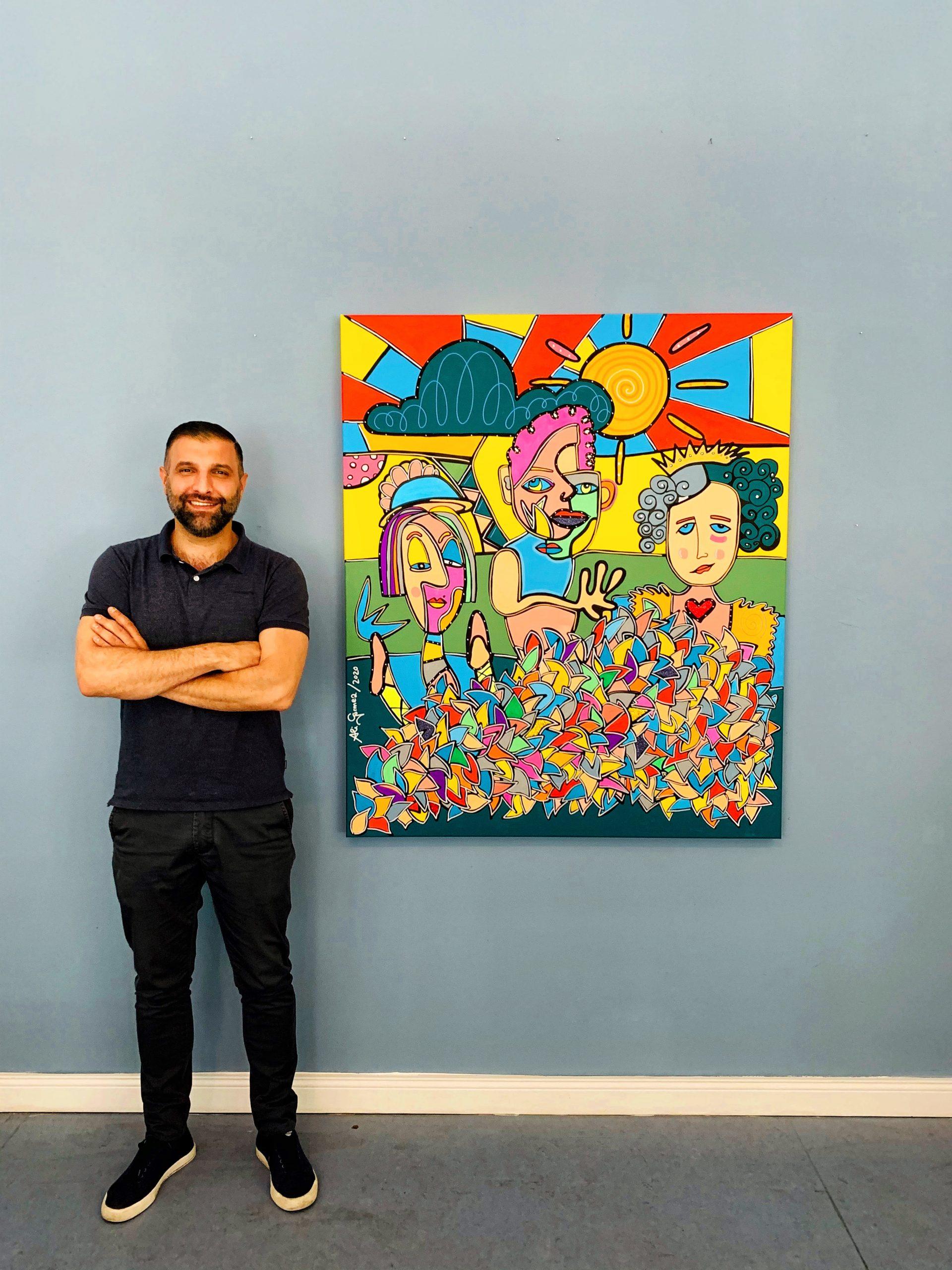 Auftragsmalerei Pop Art Ali Görmez