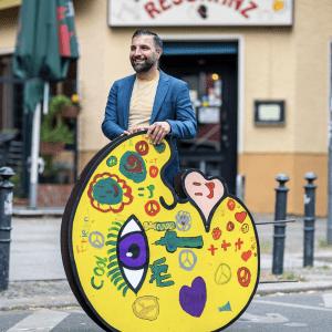 """Ali Görmez & pop art figur """"Eddy"""""""