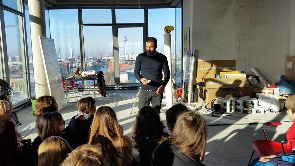 Ali Görmez - Pop Art Firmen-Workshop