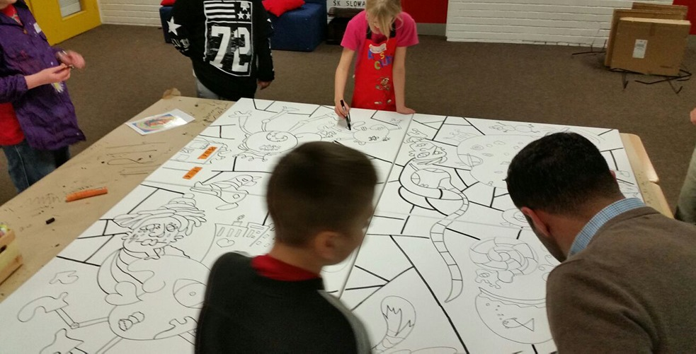 Ali Görmez Pop Art Mal-Workshop Kinder