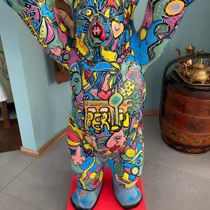 Berlin Bear - commissioned art works by pop art artist Ali Görmez (07/21)