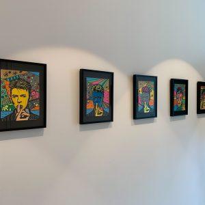 """David Bowie"" - commissioned art worksby pop art artist Ali Görmez"