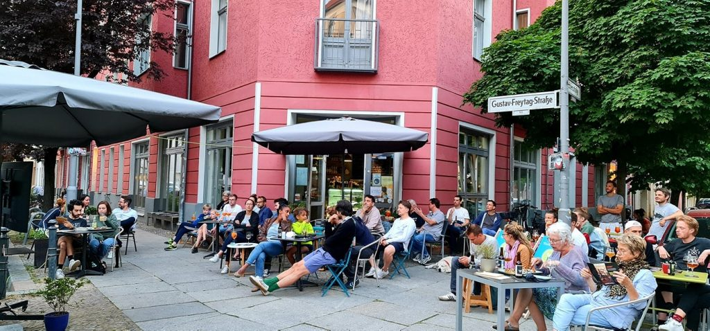 Gallery & Art Café Osbili in Berlin - Schöneberg
